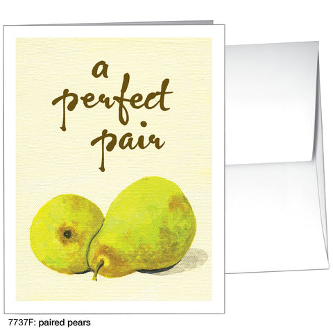 paired pears (#7737F)