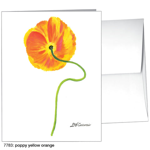 poppy yellow orange (#7783)