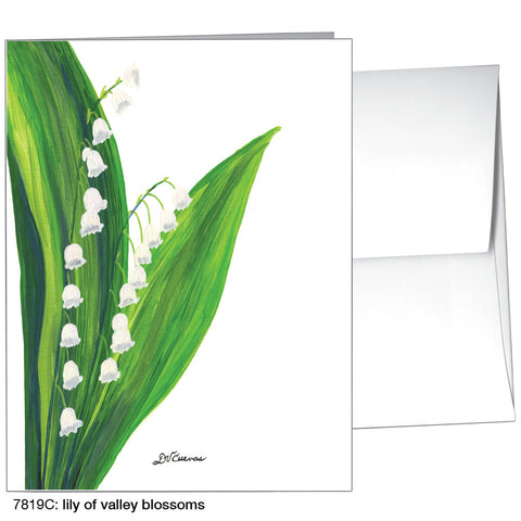 lily of valley blossoms (#7819C)