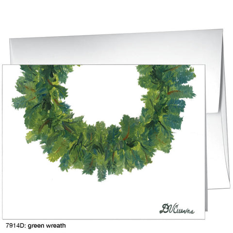 green wreath (#7914D)