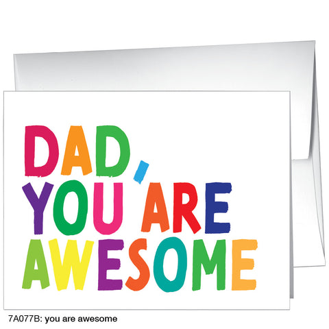 you are awesome (#7A077B)
