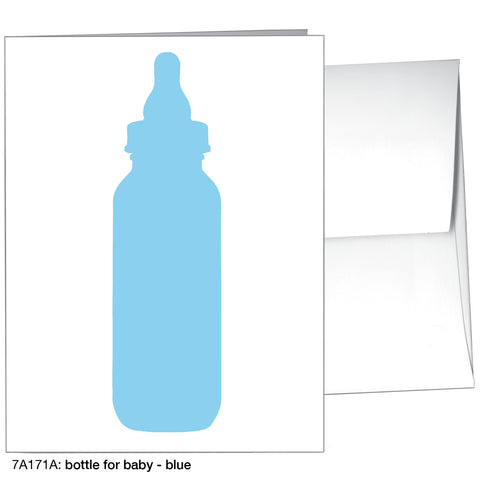 bottle for baby - blue (#7A171A)