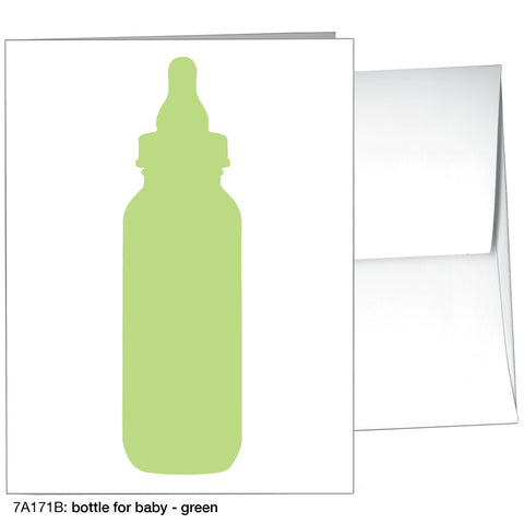 bottle for baby - green (#7A171B)