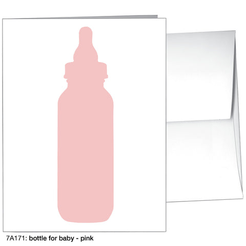 bottle for baby - pink (#7A171)