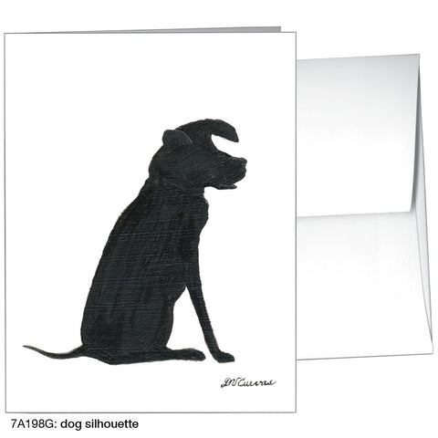 dog silhouette (#7A198G)