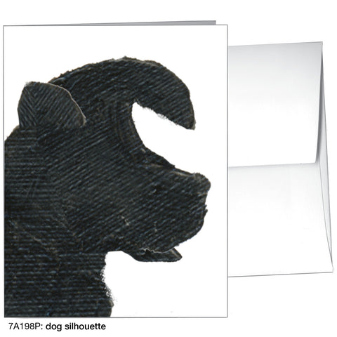 dog silhouette (#7A198P)