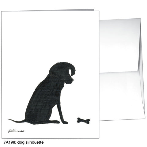 dog silhouette (#7A198)