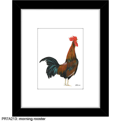 morning rooster (#7A213)