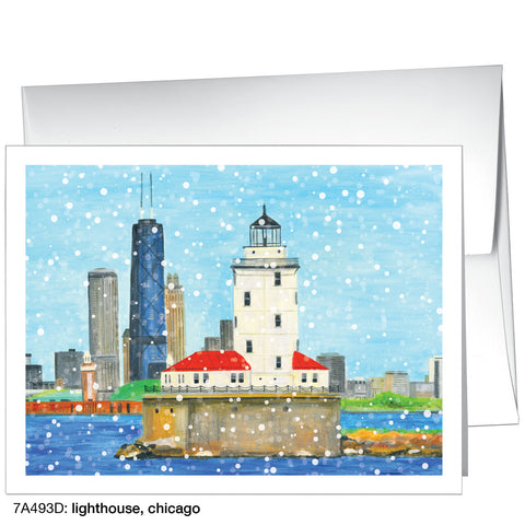lighthouse, chicago (#7A493D)