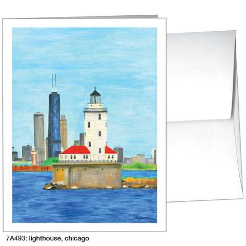 lighthouse, chicago (#7A493)
