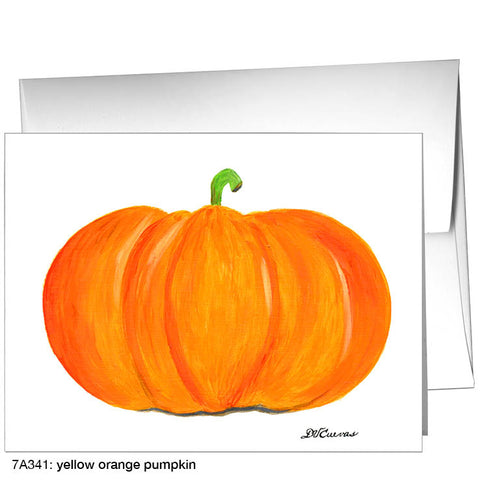 yellow orange pumpkin (#7A341)