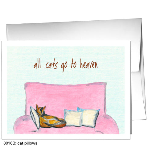 cat pillows (#8016B)
