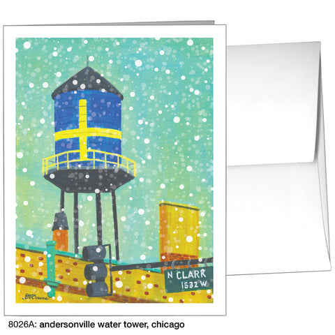 andersonville water tower, chicago (#8026A)