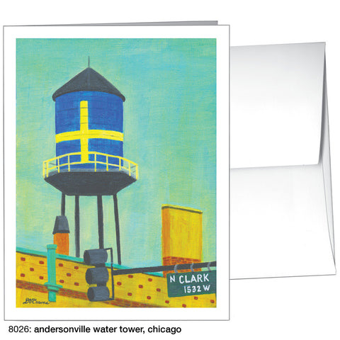 andersonville water tower, chicago (#8026)