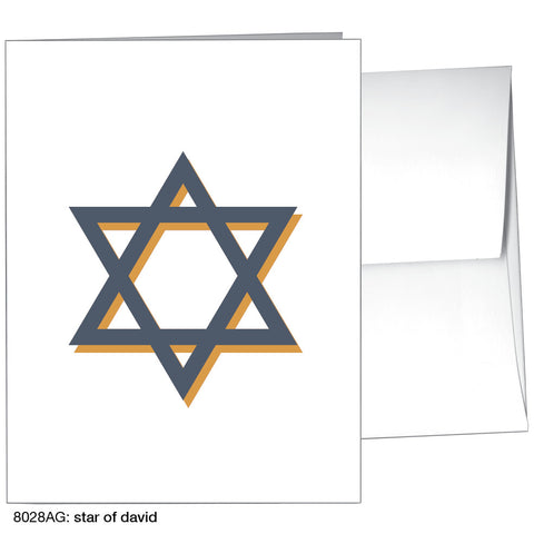 star of david (#8028AG)