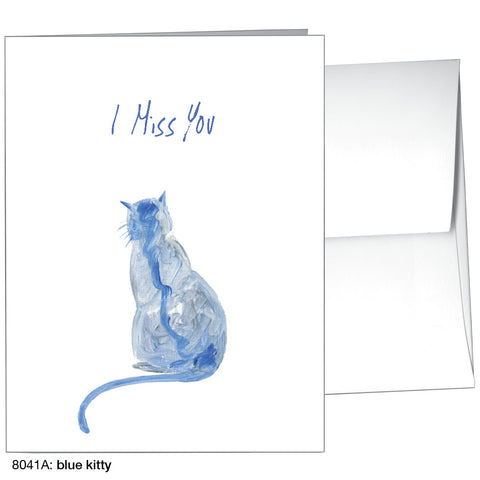 blue kitty (#8041A)