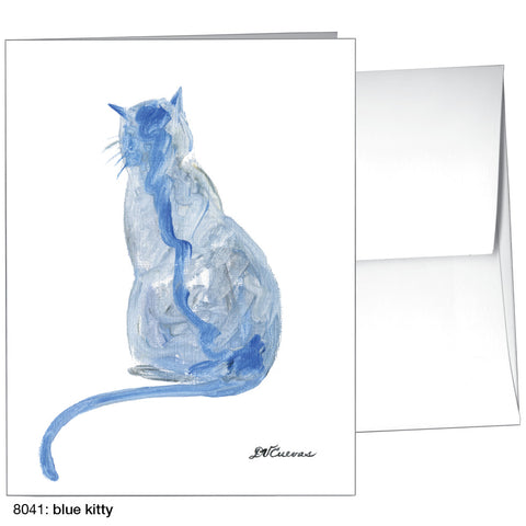blue kitty (#8041)