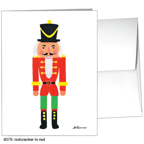 nutcracker in red (#8079)