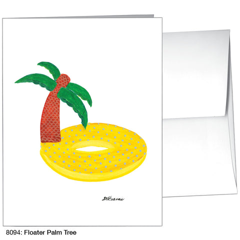 Floater Palm Tree (#8094)