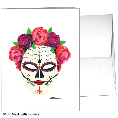 mask with flowers (#8105)