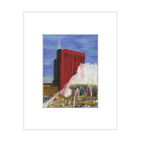 buckingham fountain, chicago (#7419)