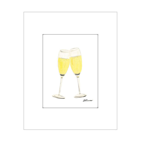 champagne glasses (#7A013)