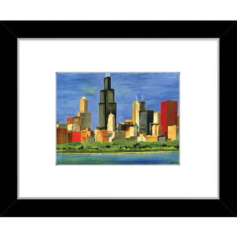 chicago skyline (#7196)