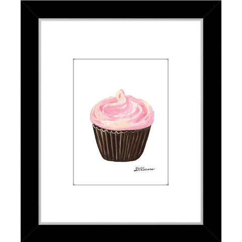 frosted pink cupcake (#7893)