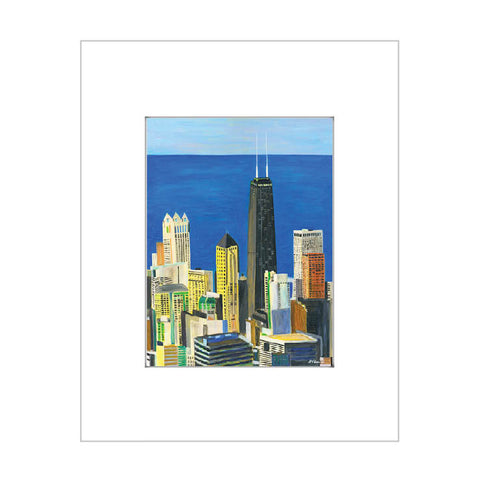 lake michigan view, chicago (#7838)