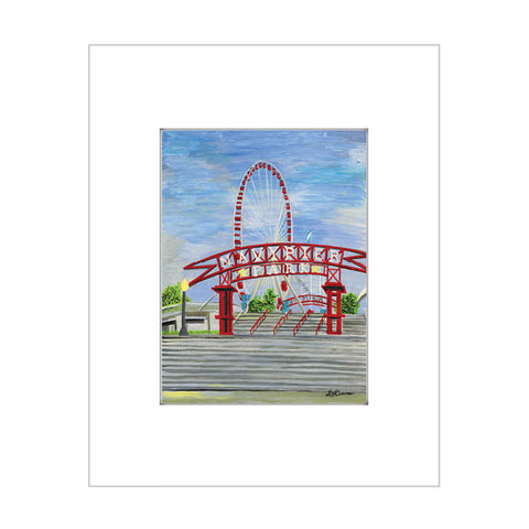 navy pier entrance, chicago (#7619)