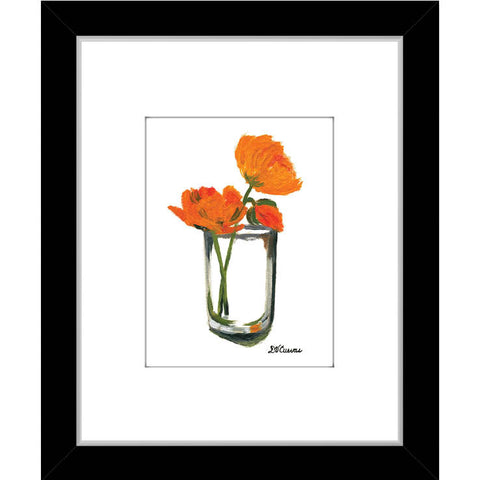 poppies in glass (#7110)