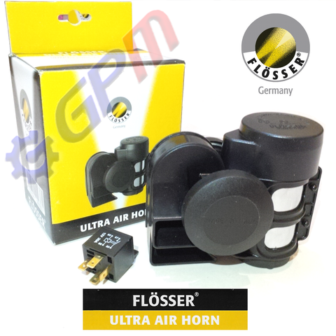 Klakson Kapal Flosser Ultra Air Horn 12 Volt Made in Italy