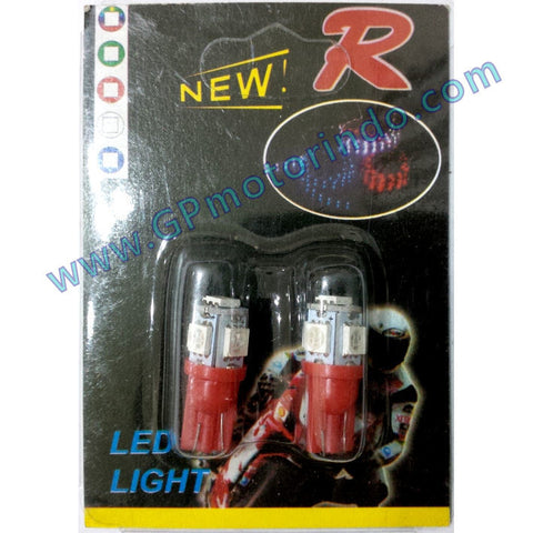 LED Colok T10 Jagung Merah