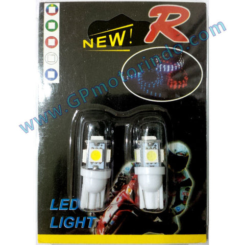LED Colok T10 Jagung Putih