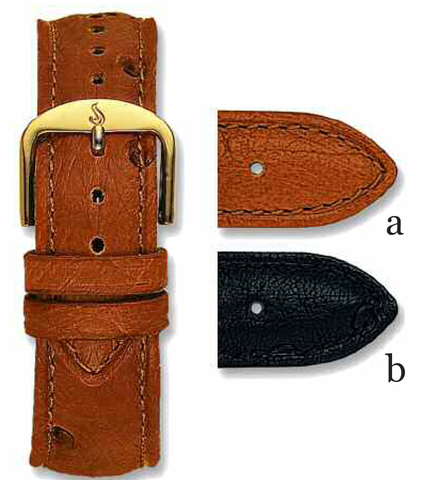 Genuine Ostrich Bands