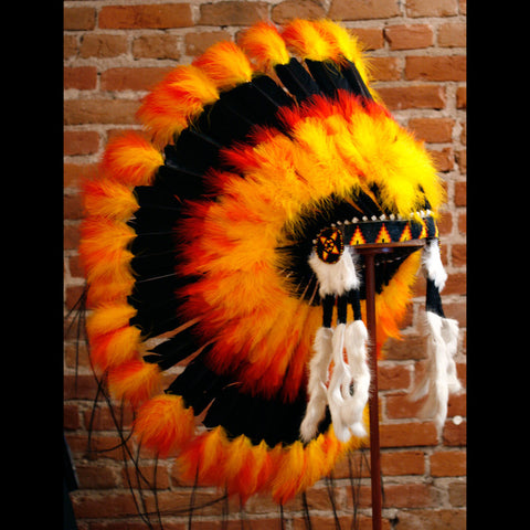 Fireball Indian Headdress