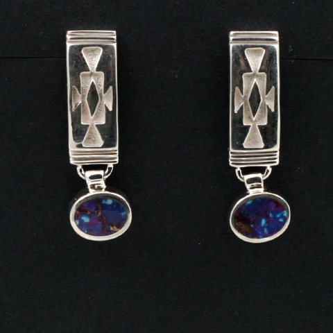 David Rosales Sterling Silver Earrings