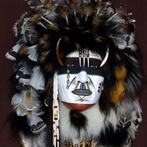 Sun Chief II Spirit Mask by Cindy Jo Popejoy