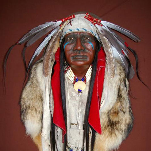 Apache Warrior Spirit Mask by Cindy Jo Popejoy