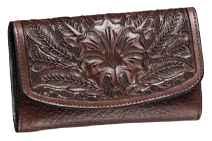 American Bison Clutch Purse