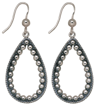 Teardrop Bead Earrings