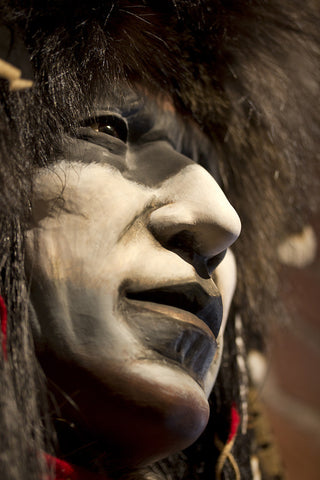 War Paint II Spirit Mask by Cindy Jo Popejoy