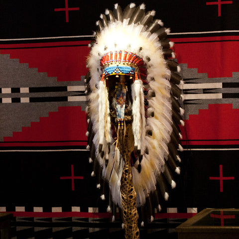 "36"" Victory Headdress by Russ Kruse"