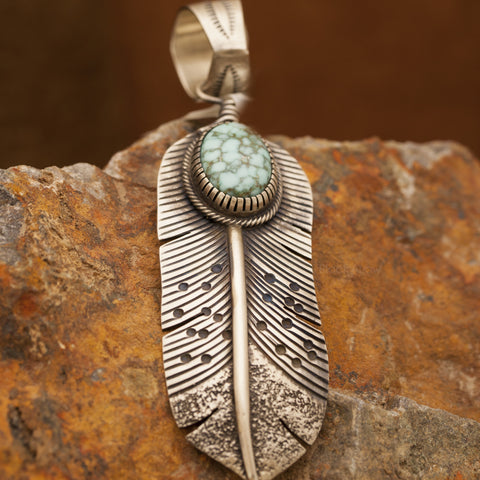Traditional Sterling Silver Pendant