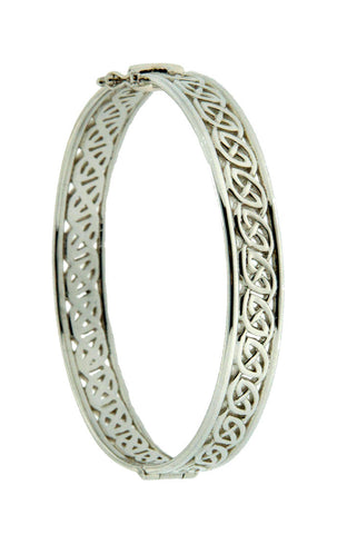Keith Jack Sterling Silver Window to the Soul Bangle