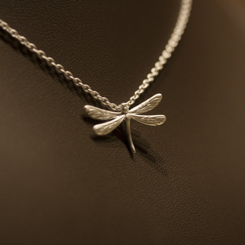 Rebecca Hook Dragonfly Necklace
