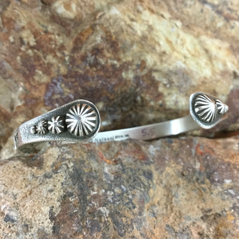 Traditional Sterling Silver Bracelet by K Nataani