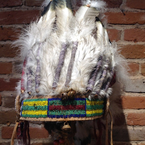 Short Lakota Sioux Headdress