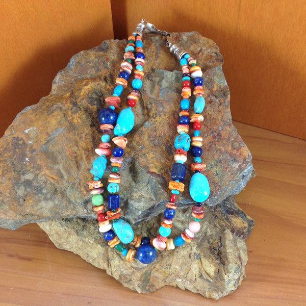 Traditional Navajo Jewelry Mutli Color Jewelry Turquoise