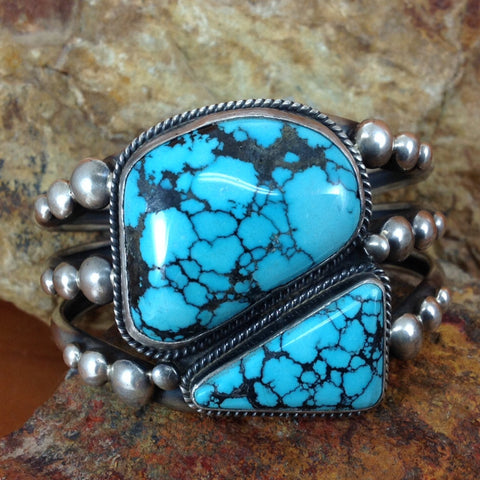 Indian Mountain Turquoise Cuff Bracelet